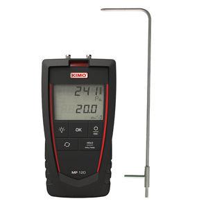 digital pressure gauge / electronic / for air / for HVAC