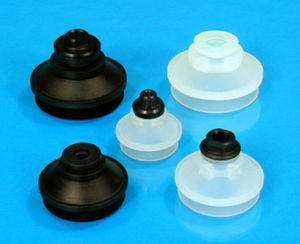 bellows suction cup / multi-function / silicone / vertical