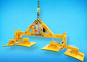 arch stone vacuum lifting device