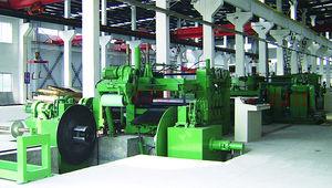 textile slitting machine / automatic