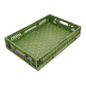 PP crate / storage / transport / with handles