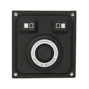 panel-mount pointing device