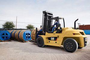 gasoline-powered forklift / diesel / ride-on / handling