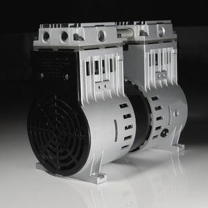 piston vacuum pump / rocking piston / oil-free / single-stage