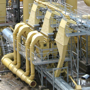 air classifier / sand / process / high-efficiency