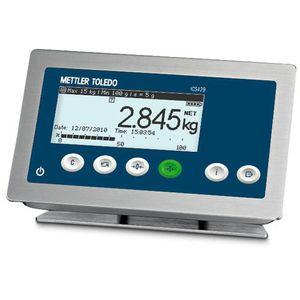 LCD display weighing terminal