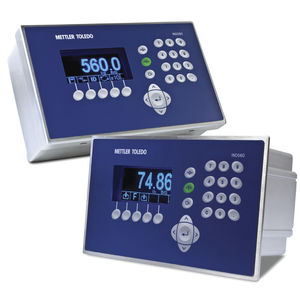 digital weight indicator / LCD display / wall-mount / panel-mount