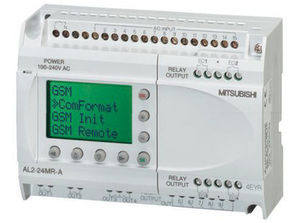 compact PLC / DIN rail / with integrated I/O / fieldbus