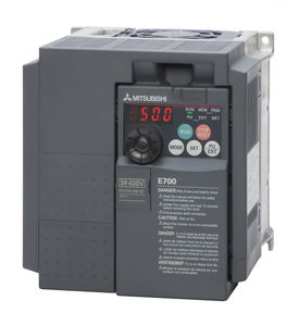 three-phase frequency inverter / single-phase / vector control / panel-mount