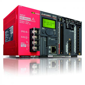 compact PLC / with integrated I/O / fieldbus / Ethernet