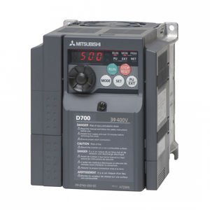 three-phase frequency inverter / single-phase / vector control / compact
