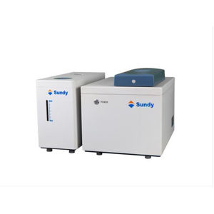 oxygen bomb calorimeter / isoperibol / combustion / coal