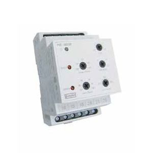 under-voltage protection relay / DIN rail / time delay / differential