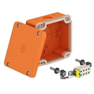 flush-mount junction box