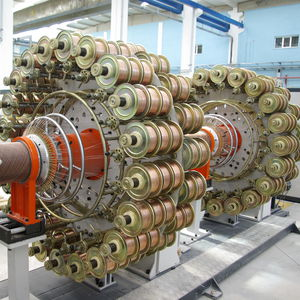 tube extrusion line / for steel-plastic composites / for steel-reinforced pipes / for gas pipes