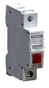steady indicator light / DIN rail / signaling