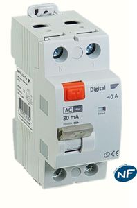 AC residual current circuit breaker