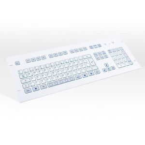rack-mount keyboard / 105-key / without pointing device / short-travel