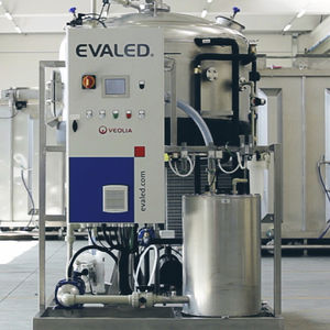vacuum evaporator / thermal / process / for wastewater treatment