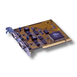 PCI communication interface card / CANopen / CAN Bus / industrial