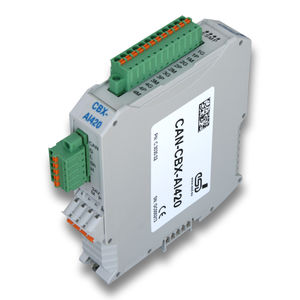 analog I/O module / CAN Bus / network / automation