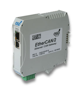 communication gateway / industrial / Ethernet / CAN