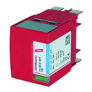 type 2 surge arrester / type 1 / for power supplies / for electrical installations