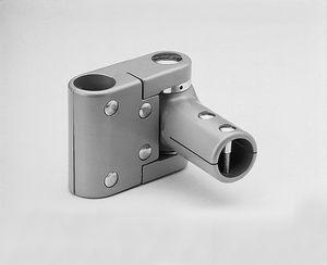 round tube connector / aluminum / alloy / swivel bearing