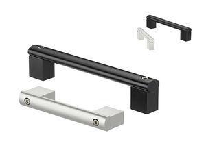 machine handle / pull / aluminum / profiled