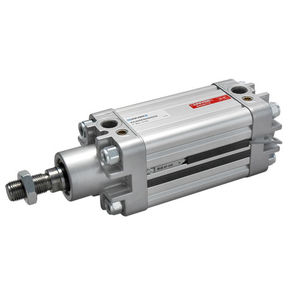 pneumatic cylinder / double-acting / ISO / tandem
