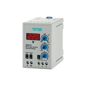 over-voltage control relay