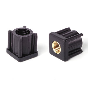 end cap with threaded insert