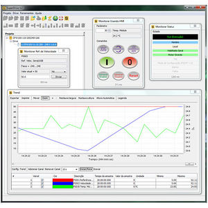 monitoring software / configuration / editing / frequency inverter