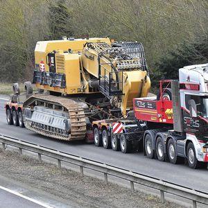 more than 6 axles semi-trailer