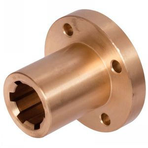 tightening hub / splined / with flange