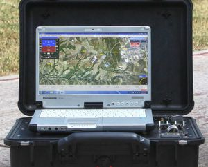 UAV ground station / Ethernet
