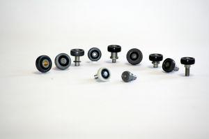 bearing wheel type roller