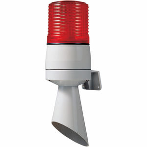 fire warning horn / with LED beacon