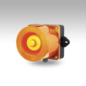 alarm sounder with LED beacon