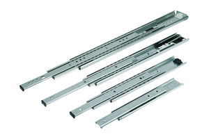 full-extension slides / partial-extension / over-extension / telescopic