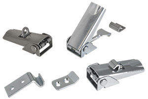 lever-operated latch / stainless steel / adjustable