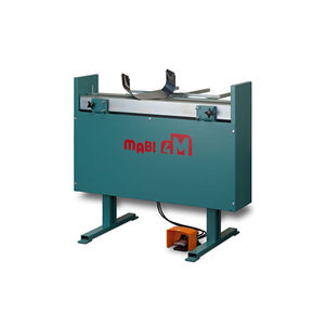 lever-operated bending machine / sheet metal / horizontal / vertical