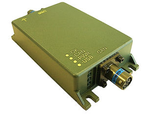 DC/DC converter interface / CAN-Bus / rugged / high-speed