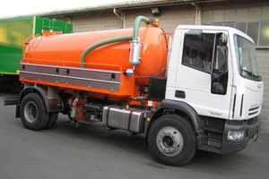 sewer cleaner truck