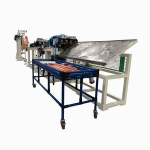 wire straightening and cutting machine / automatic