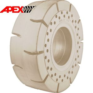 solid wheel tyre / industrial / for forklift trucks / for skid steer loaders