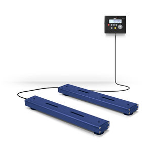 floor weighing bar / with separate indicator / stainless steel / IP67