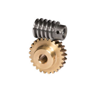 worm gear / helical-toothed / hub / plastic