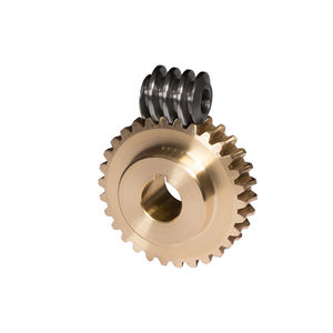 worm gear / straight-toothed / plastic / ground