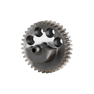 spur gear wheel / straight-toothed / steel / custom